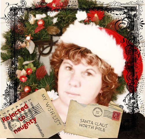 My santa photo