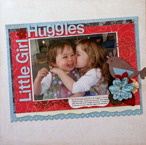 Little Girl Huggles