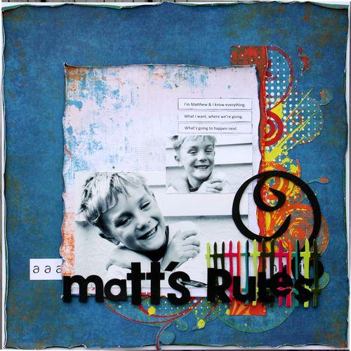 Matts-rules